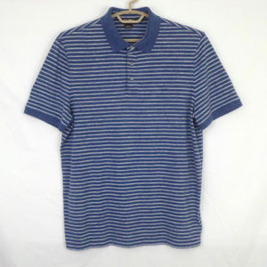 Michael Kors Stripe Short Sleeve Polo Shirt C12